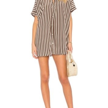 Striped Pareo Beach Cover Up Sexy Swimwear Women Swimsuit Cover Up Kaftan Beach Dress Tunic Beachwear Sarong