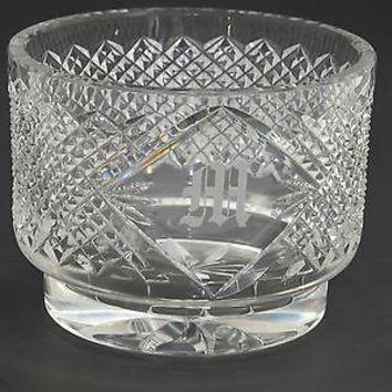 Hand cut lead  Crystal bowl, Can be customized glass M