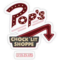 'Pop's Riverdale' Sticker by kcgfx