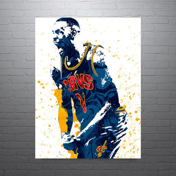 LeBron James - Cleveland Cavaliers Poster