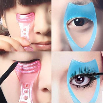 Hot Deal On Sale Make-up Tool Professional Hot Sale Beauty Brush False Eyelashes Tools Eyebrow Drawing Card [4956068100]