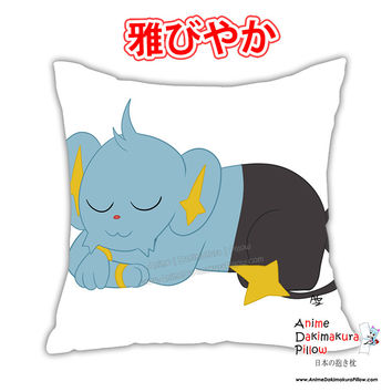 New Shinx Anime Dakimakura Square Japanese Pillow Cover Custom Designer Wolfgirl1 ADC381