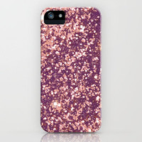Blurry Copper Sparkle iPhone Case by Rex Lambo | Society6