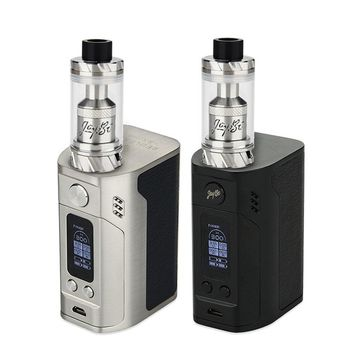 Original 300W WISMEC RX300 TC Kit w/ Reux Atomizer 6ml Powered by 4x 18650 battery VS only RX300 TC BOX Mod Electronic cig