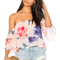 Yumi Kim Double Trouble Top in Yours Truly | REVOLVE