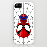 Chibi Spiderman iPhone & iPod Case by artwaste