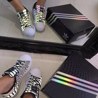 Adidas Women Chameleon Reflective Running Sports Shoes