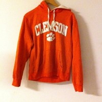 Clemson hooded sweatshirt