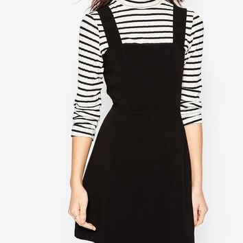 New Look Pinafore Dress at asos.com