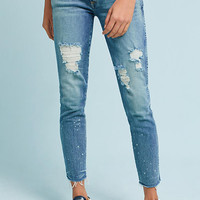 AMO Stix Mid-Rise Skinny Cropped Jeans