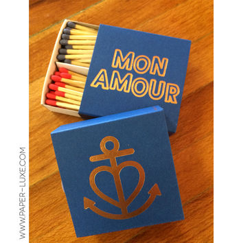 """Mon Amour"" Matches"