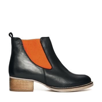 ASOS AFTERSHOCK Chelsea Leather Boots