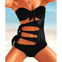 Super Sexy Bikini Black by Summershopping on Zibbet