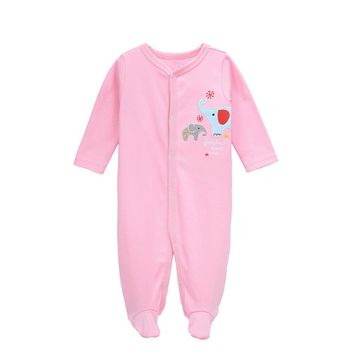 Baby Girls Romper 100% Cotton Long Sleeves Baby Clothing Comfortable Baby Pajamas Newborn Baby Clothes dresses for girls