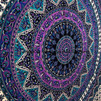 Mandala Tapestries Tapestry Wall Hanging Wall Tapestries Indian Hippie Tapestries Wall Hanging Bohemian Tapestry Dorm Tapestry Wall Art