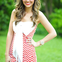 Red, White, And Beautiful Dress: Red/White | Hope's