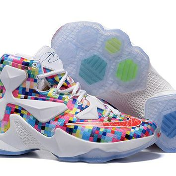 Nike Zoom LeBron James 13 Colorful Basketball Shoes