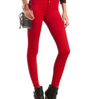 "Refuge ""Hi-Waist Super Skinny"" Colored Jeans"