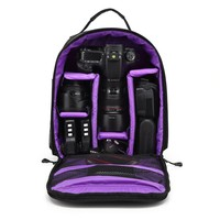Outdoor Upgrade Waterproof Photography Camera Bag Backpack Camping Travel Digital Camera Video Bag for Nikon Canon DSLR Sony