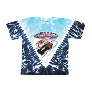 Grateful Dead Men's  Bob Sled Bears Tie Dye T-shirt Multi