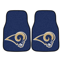 Los Angeles Rams NFL Car Floor Mats (2 Front)