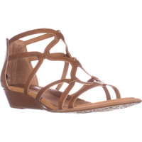 B.O.C. Born Concept Pawel Low Wedge Gladiator Sandals - Light Brown