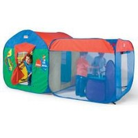 The Pop Up Playhouse - Hammacher Schlemmer