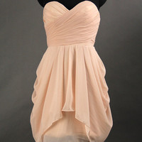 Cute strapless nice dress