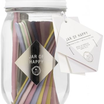 Jar Of Happy - Pull Out a Stick to Instantly Brighten Your Day!