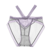 Natalie Strappy Demi High Waist Panty in Lavender Quartz 💫 SOLD OUT 💫