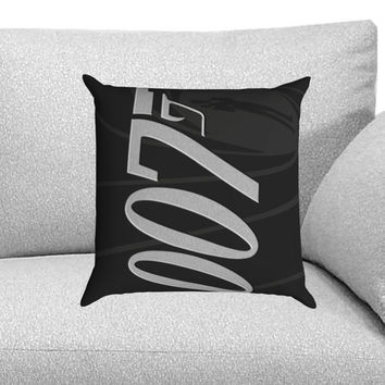 James Bond 007 Custom Pillow Case for One Side and Two Side