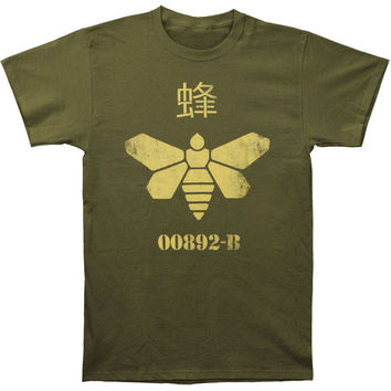 Breaking Bad Men's  Barrel Bee T-shirt Green Rockabilia