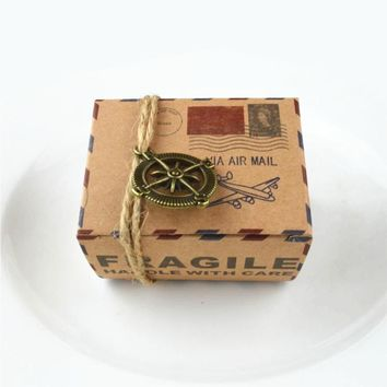 Party  Wedding  Decoration  Candy  Small  Kraft  Paper