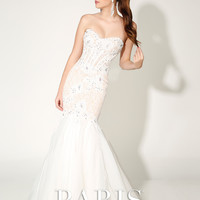 Paris by Mon Cheri 116743 In Stock Lace Mermaid Prom Wedding Bridal Dress