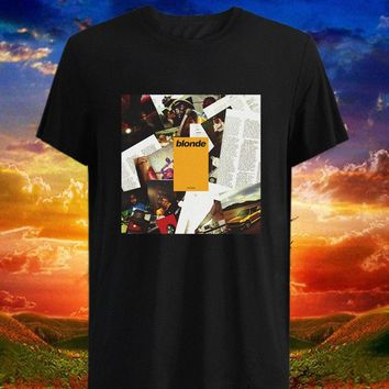 Blonde Shirt Frank Ocean Blond Tour World Music 2018 Tshirt Merch Tees Endless