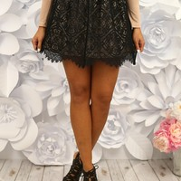 A Lace For The Finish Skirt