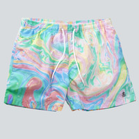 Double Rainbow Swim Shorts