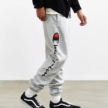 Champion Women Men Fashion Casual Pattern Print Pants Trousers-1