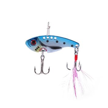 Trout Bait Wobbler Sharp Feather Fly Fishing Treble Hook