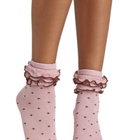Ruffle the Fun Socks