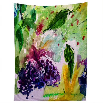 Ginette Fine Art Elder Berries Wild Fruit 2 Tapestry
