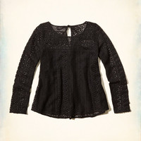 Easy Lace Top