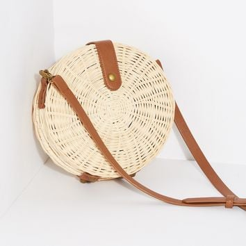 Emma Wicker Crossbody