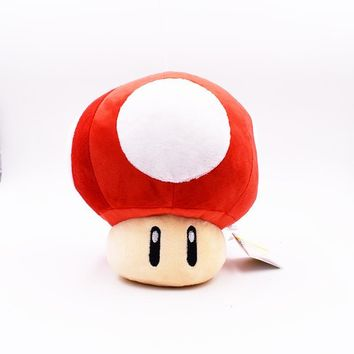 Super Mario party nes switch 2017    Mushroom Plush Toys Red Mushroom Plush Dolls 20cm Toad Plush Toy Dolls AT_80_8