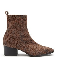 Matisse x Amuse Society Liliana Leopard Booties