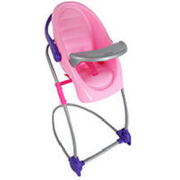 Graco Doll 4-in-1 Swing n Snack High Chair for 18 inch Doll