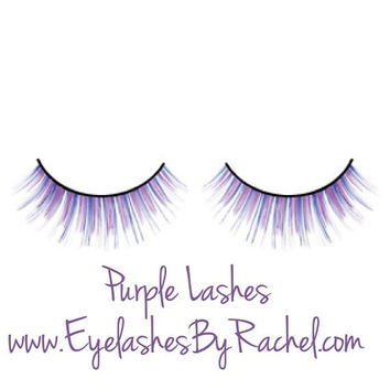 Sale Purple False Eyelashes