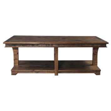 Ramsey Rustic Solid Pine Coffee Table by Uttermost