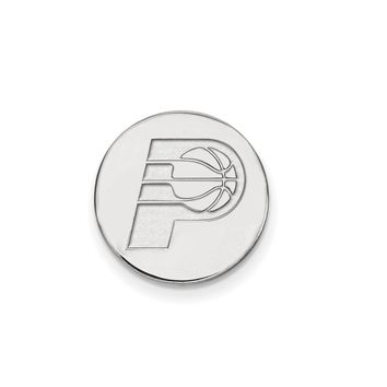 NBA Indiana Pacers Lapel Pin in 14k White Gold