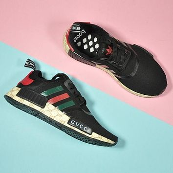 Trendsetter Gucci x Adidas NMD Woman Fashion Running Sneakers Sport Shoes